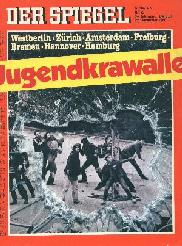 Archiv der spiegel ber jugendkrawalle 1980 for Der spiegel archiv